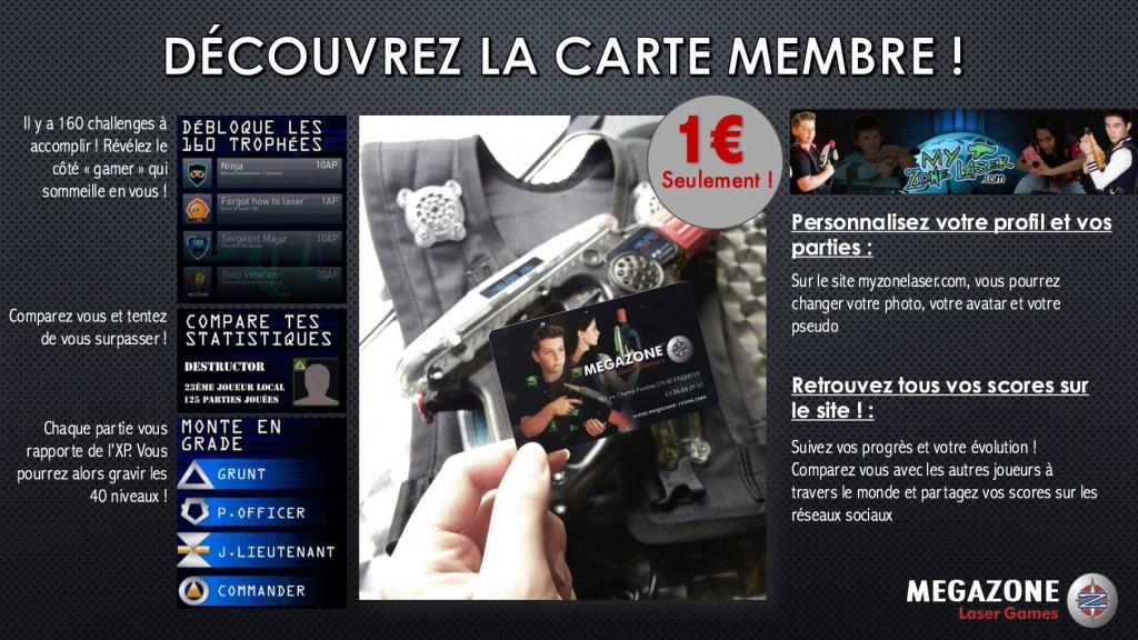 Carte membre site